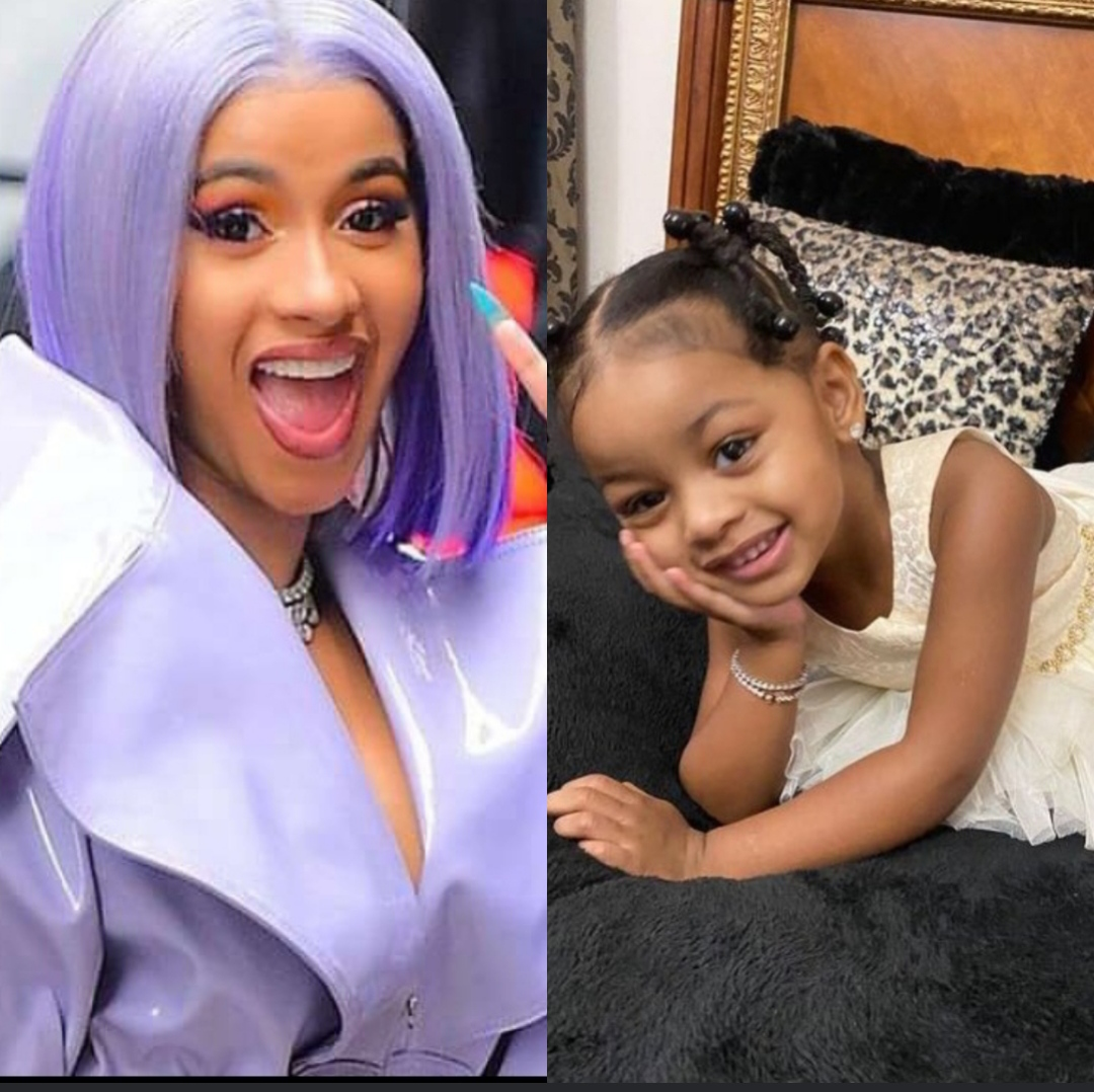 Cardi B and her daughter
