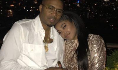 Nas and his daughter Destiny Jones On her birthday