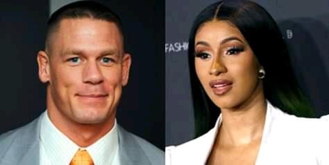 "John cena says Cardi B might be a ""heck of a WWE Superstar,"""