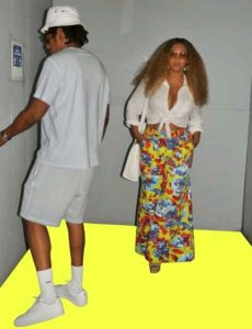 Beyoncé takes a helicopter to New York for a rare romantic lunch date with Jay-Z