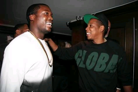Meek Mill and Jay-Z were photographed together in the studio