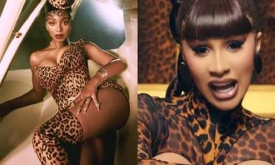 Normani and Cardi B dance naked in the music video for Wild Side