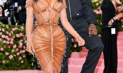 """Kim Kardashian Says She Doesn't See the Resemblance Between Her """"Twin"""" Saint and Kanye West"""
