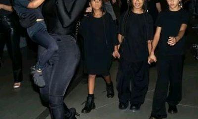Kim Kardashian, kids support Kanye West's Donda event with Balenciaga outfits