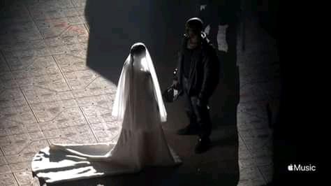 Kim Kardashian shares stunning photos with Kanye West in wedding gown