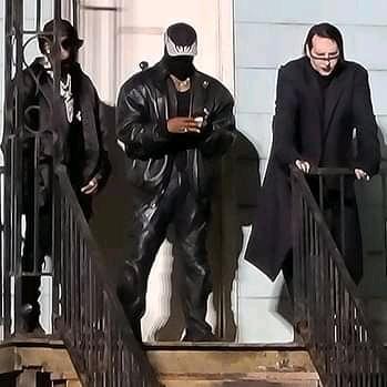 Kim Kardashian upset with Kanye for inviting Marilyn Manson to DONDA event