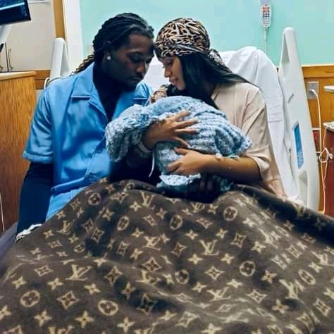 Cardi B And Offset Welcome Baby Boy