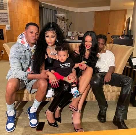 Rihanna bonds with Nicki Minaj's son in new photos
