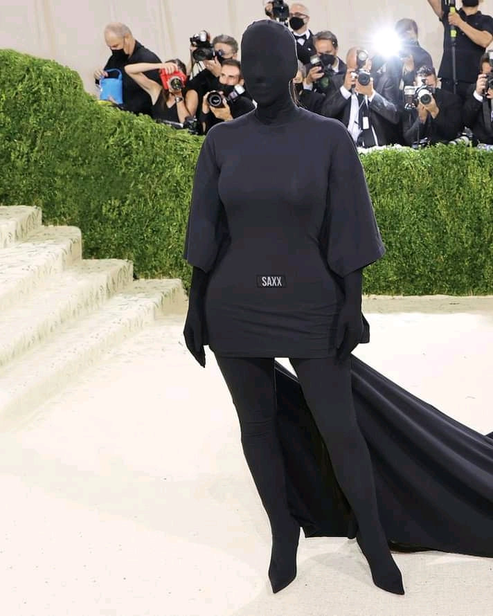 Kim Kardashian on that viral meme of her and Kendall Jenner at the Met Gala