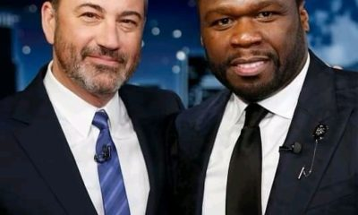 50 Cent and Jimmy Kimmel