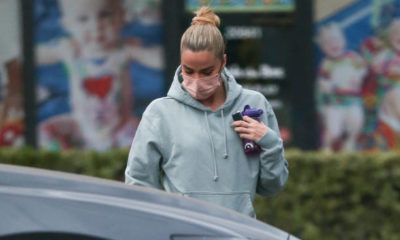Doting mother Khloe Kardashian masks up as she takes daughter True Thompson and niece Chicago West to dance class