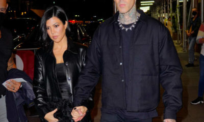 Kourtney Kardashian & Travis Barker Step Out For Dinner & A Show in NYC